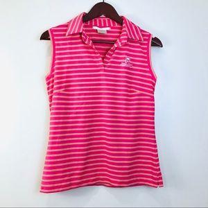 Nike GOLF NikeFitDry Pink Sleeveless Medium Top